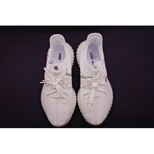 0c275646d5da Buy Best Quality UA Yeezy Boost 350 V2 Supreme Sample White Online ...