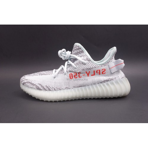meet 5b226 2f9ba Best Version Yeezy Boost 350 V2 Blue Tint (New Update)