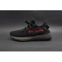 Best Version Yeezy Boost 350 V2 Bred Black/Red (2nd Update)