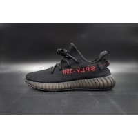Best Version Yeezy Boost 350 V2 Bred Black/Red (New Updated)