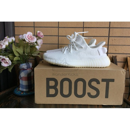 HQ Version Yeezy Boost 350 V2 Cream Triple White