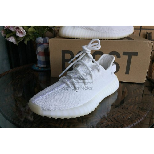 new arrival 127ef ae564 HQ Version Yeezy Boost 350 V2 Cream Triple White