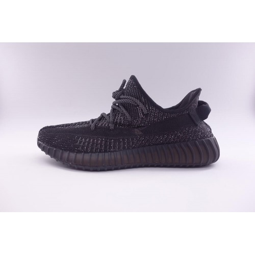 Best Version Yeezy Boost 350 V2 Static Reflective Black
