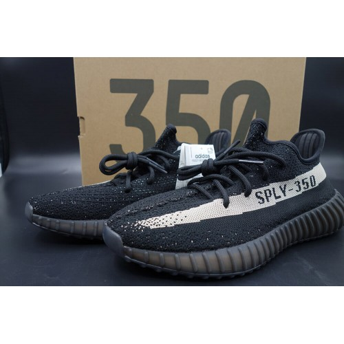 Buy Best Quality UA Yeezy Boost 350 V2 Oreo Black White Online From ... a593dab2c329