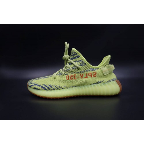 9852b0fca5526 Buy Best Quality UA Yeezy Boost 350 V2 Semi Frozen Yellow online ...