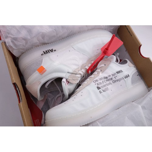 0e906d94111 Nike Air Force 1 Low Off White Virgil (3rd Updated)