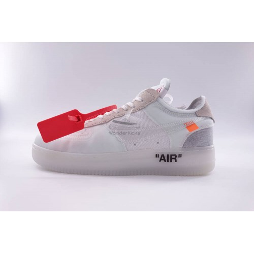 Air Force 1 Low Off White Virgil (3rd Updated)