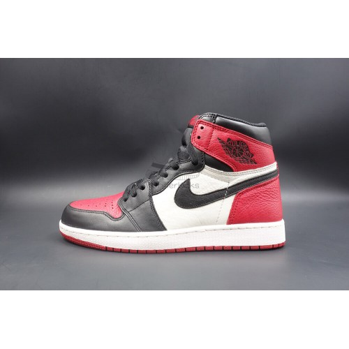 d5ceaa314f2b9f Buy Best Quality UA Air Jordan 1 Retro High Bred Toe Online ...