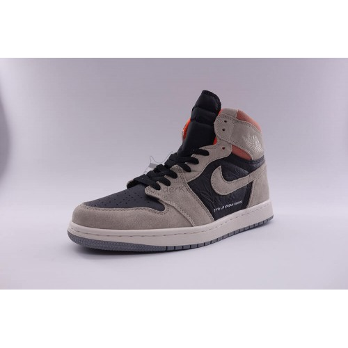 another chance 93a64 522ca Air Jordan 1 Retro High Neutral Grey Hyper Crimson