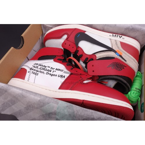reputable site e53c9 bb0a6 Air Jordan 1 High OG Off White Virgil Chicago (3rd Updated)