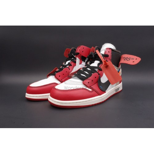 07db792bc7635d Buy Best Quality UA Air Jordan 1 High OG Off White Virgil Chicago ...