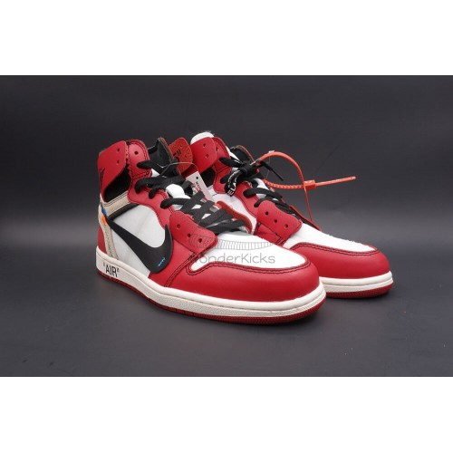 ecd12c34914d Buy Best Quality UA Air Jordan 1 High OG Off White Virgil Chicago ...