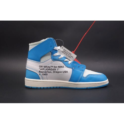 buy popular 4e69f 66e04 Air Jordan 1 High OG Off White UNC Blue