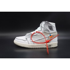 Air Jordan 1 High OG Off White In White