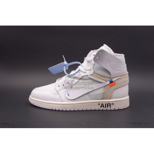 quality design c27b3 b2560 Air Jordan 1 High OG Off White In White (2nd Update)