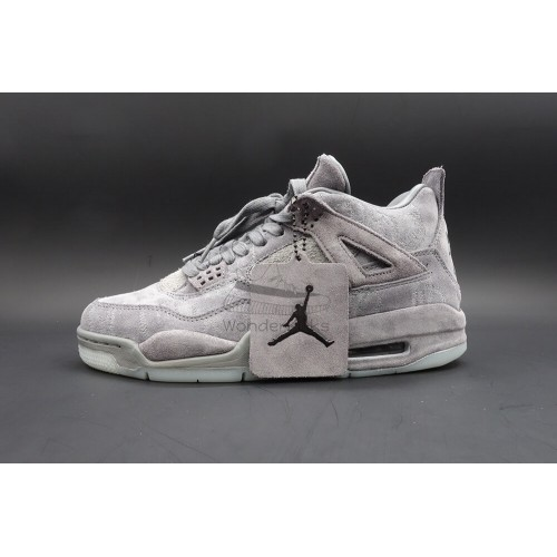 4f8b3afc0e4 Buy Best Quality UA Air Jordan 4 Retro KAWS Online