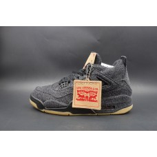 Air Jordan 4 Retro Levi's Black (New Update)