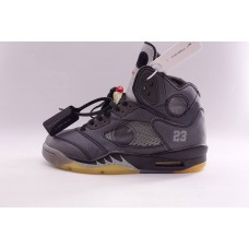 Air Jordan 5 Retro Off White Black