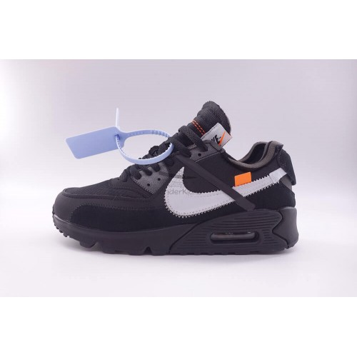 Air Max 90 Off White Black (New Update)