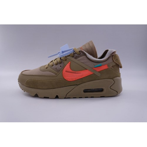 Nike Air Max 90 Off White Desert Ore (New Update)
