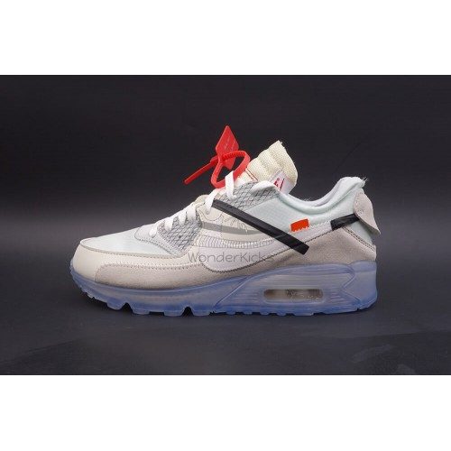 Nike Air Max 90 Off White Virgil (2nd Updated)