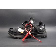 Nike Air Presto Off White In Black (2nd Update)