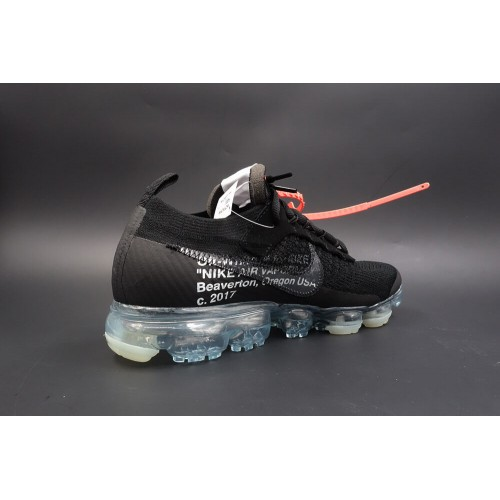 reputable site 5f44a a330a Nike Air Vapormax FK Off White in Black (New Update)