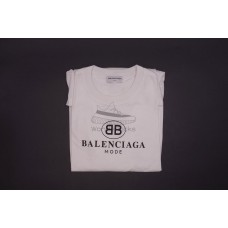 BC BB Mode Semi Fitted Tee White