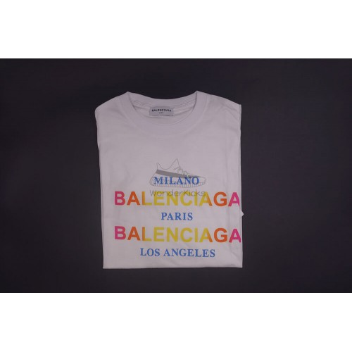 BC Cities Semi Fitted Tee White