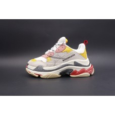 BC Triple S Trainer Cream Yellow Red (W)