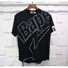 BAPE Long Length Tee Black