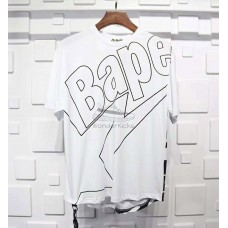 BAPE Long Length Tee White
