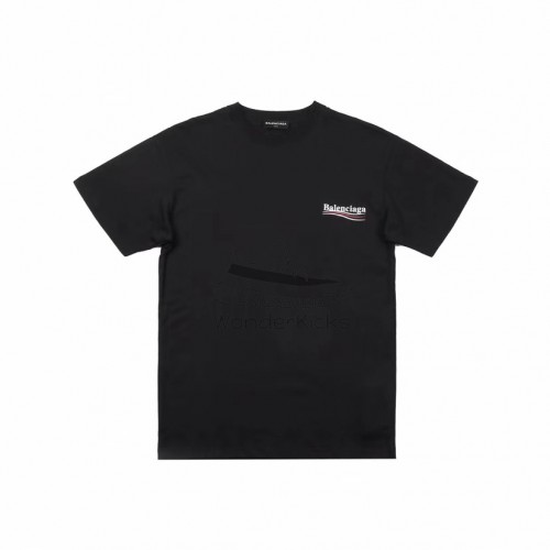 BC Logo Printed T shirt Black