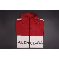 BC Tracksuit Nylon Jacket Black Red