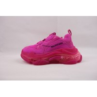 BC Triple S Trainer Clear Sole Pink
