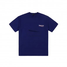 BC Logo Printed T shirt Blue