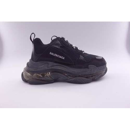 BC Triple S Clear Sole Trainer Black