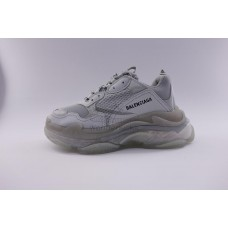 BC Triple S Clear Sole Trainer Grey