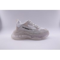BC Triple S Clear Sole Trainer White