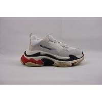 BC Triple S Trainer White Black Red