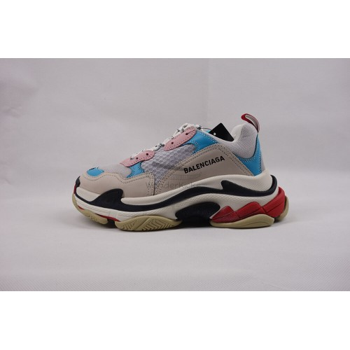 BC Triple S Trainer White Blue Pink