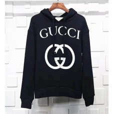 GC Interlocking G Hooded Sweatshirt Black