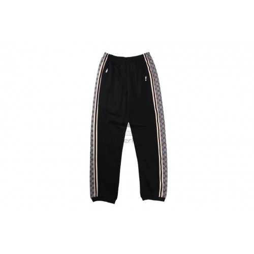 GC Technical Jersey Jogging Pant Black White