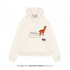 GC Deer Patch Hooded Sweatshirt