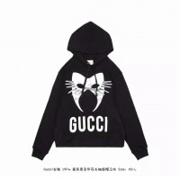 GC Manifesto Hooded Sweatshirt Black White