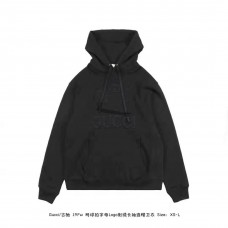 GC Tennis Hooded Sweatshirt Black