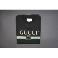 GC Washed T-shirt With Logo Print Black