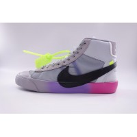 "Nike Blazer Mid Off-White Wolf Grey Serena ""Queen"" (New Update)"