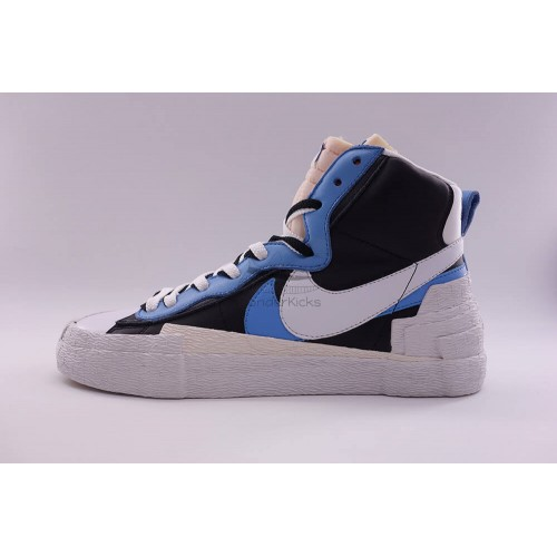 wholesale dealer 220e1 00bcb Nike Blazer High Sacai White Black Legend Blue