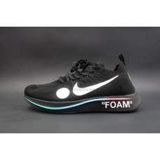 Nike Zoom Fly Off White Mercurial Flyknit Black
